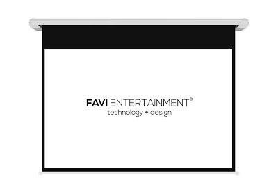 REVIEW! FAVI 120-inch 16:9 Motorized Electric Projection Projector Screen, USA Version with Warranty, Pro AV Signature Series (FE-HD2-120)