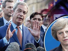 If Brexit isn't delivered - NIGEL Farage has hinted he may return as Ukip leader and deliver Brexit himself if Theresa May and her government aren't up to the job.