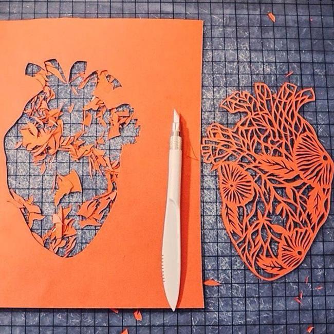 Kağıt Kesme Sanatıyla Moda İllüstrasyonları Tasarlayan Sanatçı: 'Eugenia Zoloto' Sanatlı Bi Blog 41