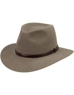 The nicest most comfortable hat I have ever had! An Akubra Banjo Paterson