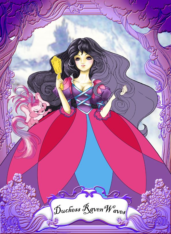 lady lovely locks duchess raven waves - I should do this costume for the next Dragon*Con lol
