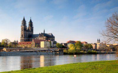 Μαγδεβούργο - Καθεδρικός του Μαγδεβούργου, το σύμβολο της πόλης