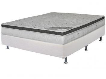 Cama Box (Box + Colchão) Casal Mola Pocket - 138x188cm Ortobom