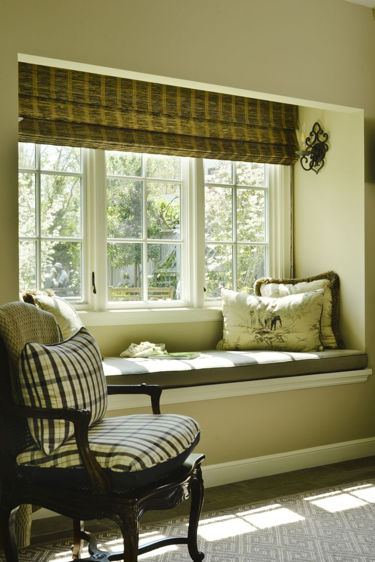 Craftsman window treatments - Craftsman Living Room By Fgy Architects Window Seat