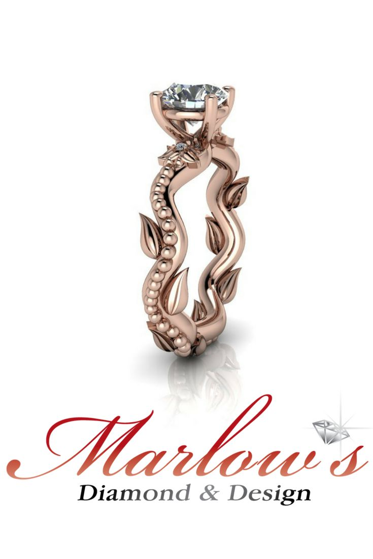 Send us your inspiration and we'll create it for you. Jewelry by Marlow's Diamond & Design