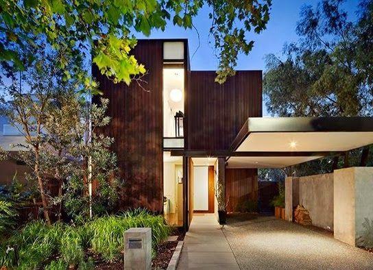 Natural Minimalist House Design | Desain Rumah Minimalis Alami