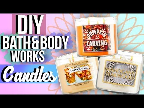 DIY Bath and Body Works Candles (Fall Edition) | JENerationDIY - YouTube