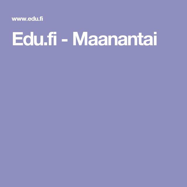 Edu.fi - Maanantai