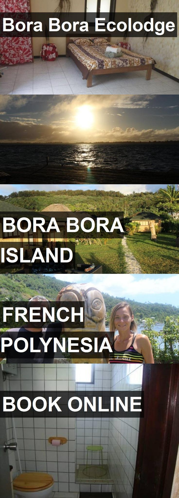 Hotel Bora Bora Ecolodge in Bora Bora Island, French Polynesia. For more information, photos, reviews and best prices please follow the link. #FrenchPolynesia #BoraBoraIsland #travel #vacation #hotel