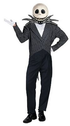 Men's #JackSkelllington #NightmareBeforeChristmas #Halloweencostume -   http://adultsfancydresscostumes.com/frightfully-cheap-and-easy-adult-halloween-costume-ideas