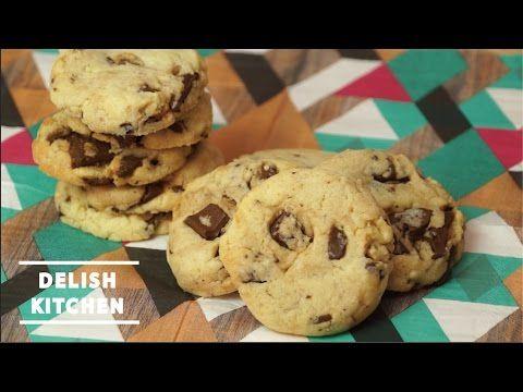 材料5つでとっても簡単!ざくざくチョコの「チョコチップクッキー」のレシピ - macaroni