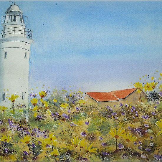 Paphos Lighthouse, Cyprus