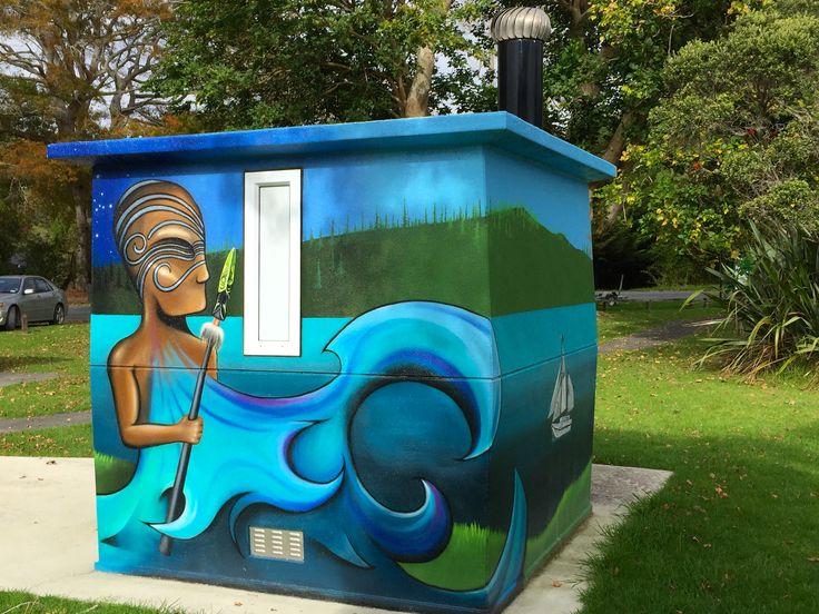 Public Toilet at Sandspit.
