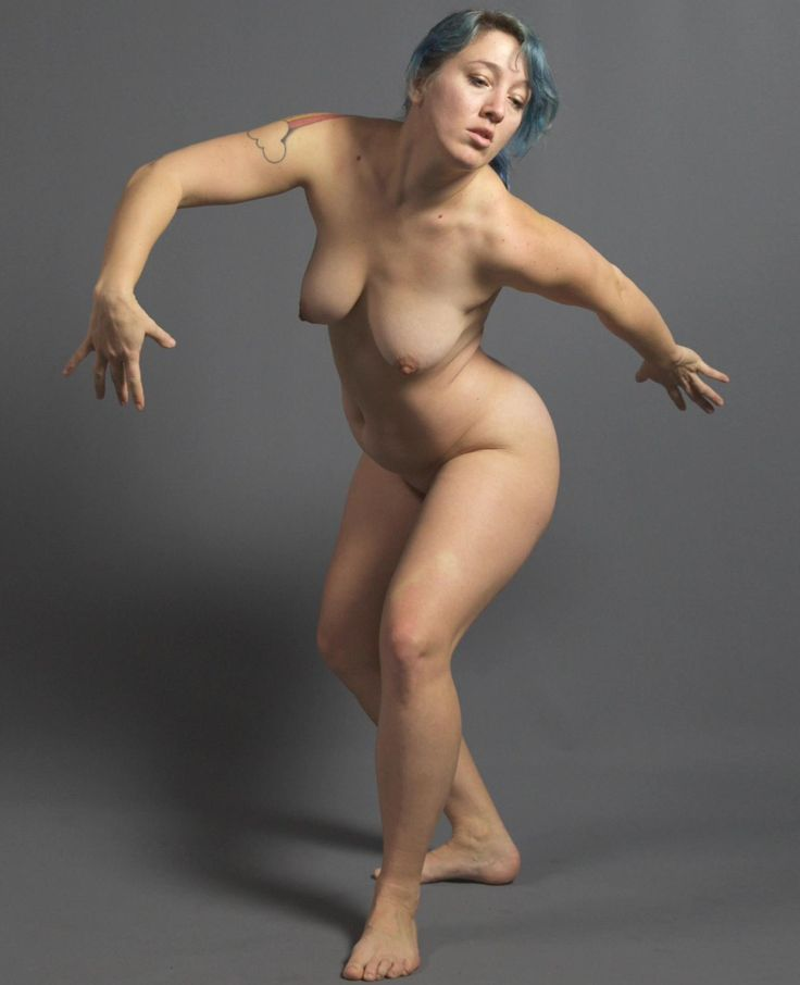 Nude figure drawing models