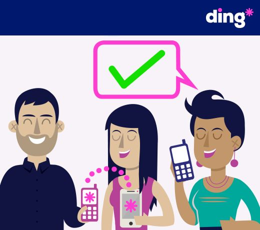 #dingfact Our dedicated customer service team help over 10,000 customers every month with any problems they have