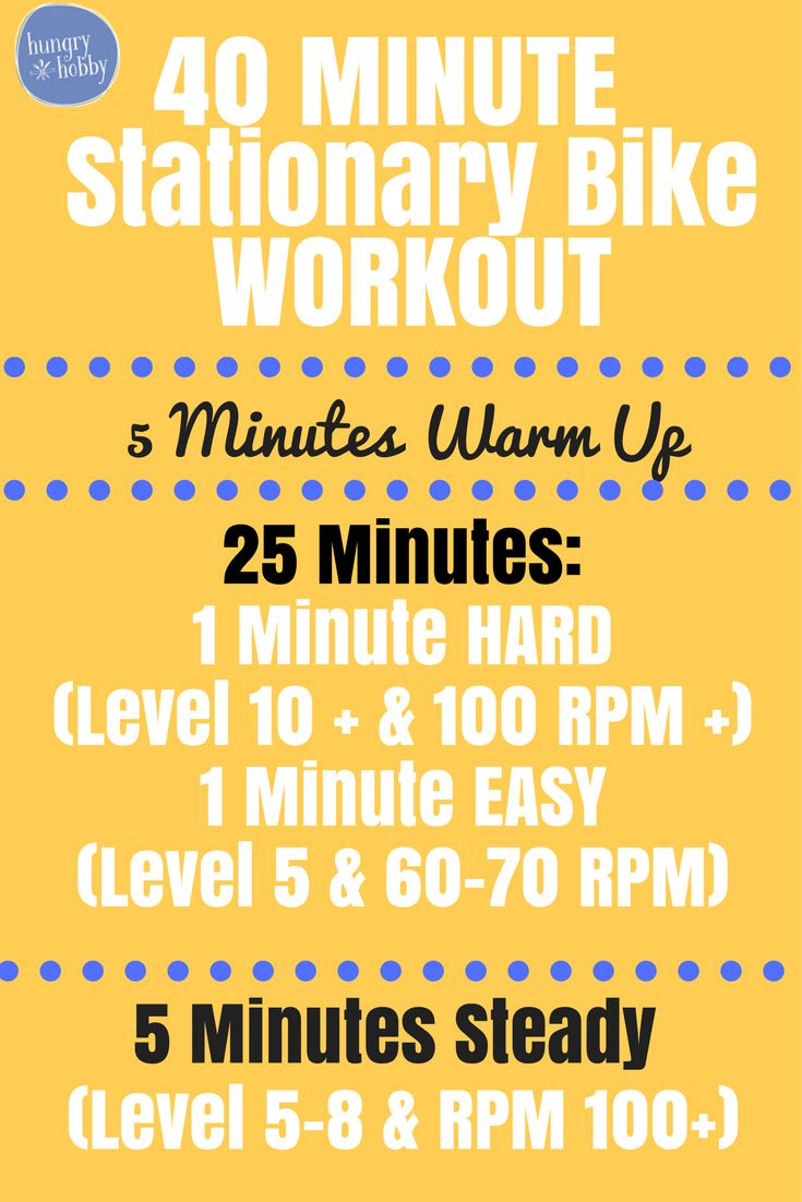 The 25 Best Bike Workouts Ideas On Pinterest Stationary Bike