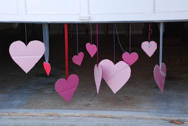 DIY Welcome Home Valentine Surprise