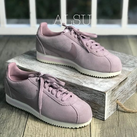 baa8a183758 NWT Nike Cortez Classic Suede Elemental Rose WMNS NWT in 2019