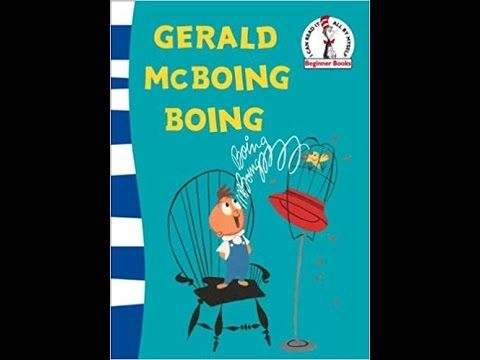 Gerald McBoing Boing by Mel Crawford and Dr. Seuss, audio book - ReadingLibraryBooks - YouTube