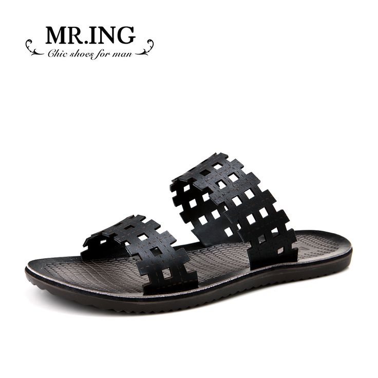 Mr.ing casual shoes summer new arrival fashion genuine leather drag trend men's a209 slippers US $94.44