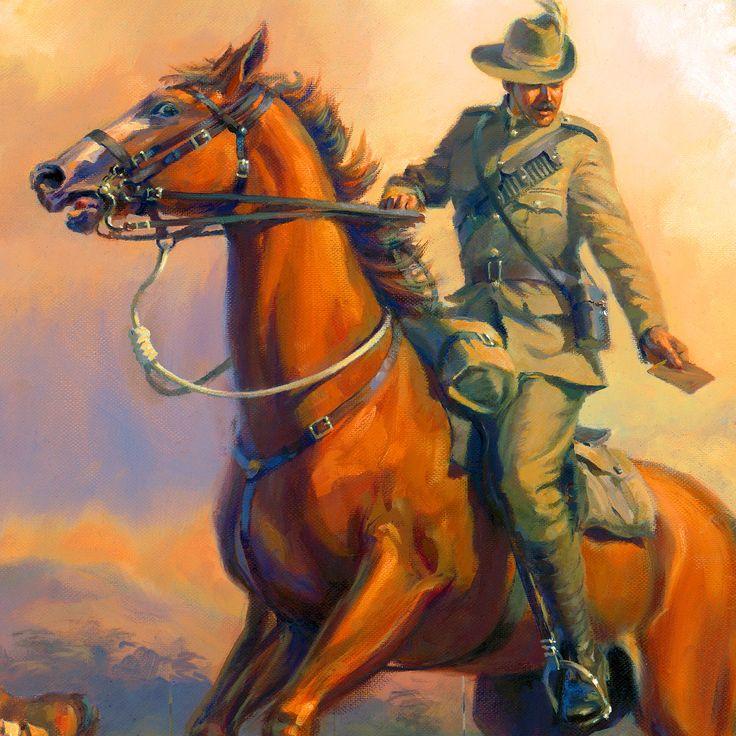 British cavalry, Boer War