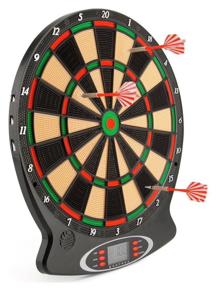 Electronic Dart Board: This Electronic Dart Board comes with an electronic scoring system for up to 8… #argosuk #argos #uk #ukonlineshopping
