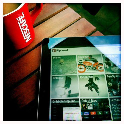 Flipboard & Nescafe