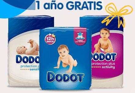 Sorteo de un año gratis de pañales Dodot