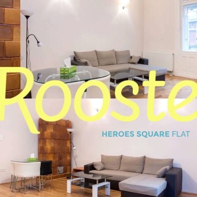 Fully-furnished, 2 bedroom Heroes Square apartment. The perfect city-break flat. Recently refurbished apartment near City Park and relaxing Széchenyi Spa. #airbnb http://www.rooste.co/565YL