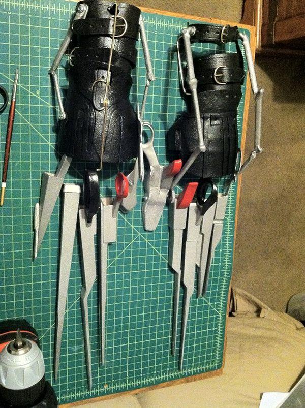 Edward Scissorhands Gloves on Behance