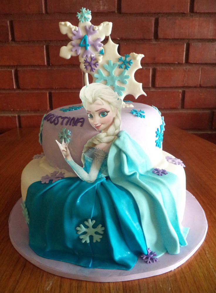 #Frozen #Olaf #fondant #cake by @VolovanProductos @volovanp