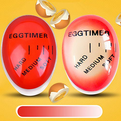 1Pc Color Change Changing Egg Timer For Perfect Cook Soft and Hard Boiled Eggs Timer Creative Kitchen Gadget 2017 - $2.99