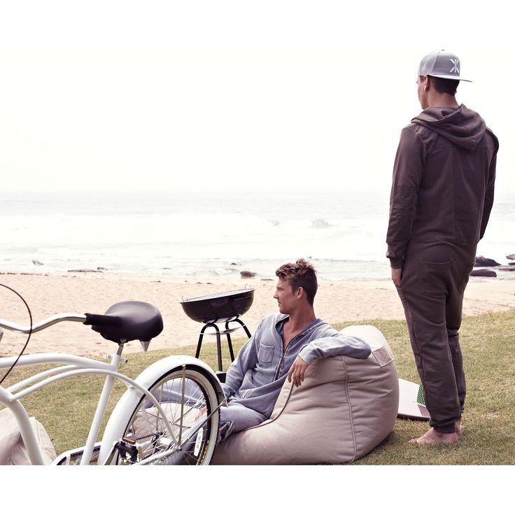 Outdoor Bean Bags | Studio Lounger - Sandstorm | Bean Bags Australia