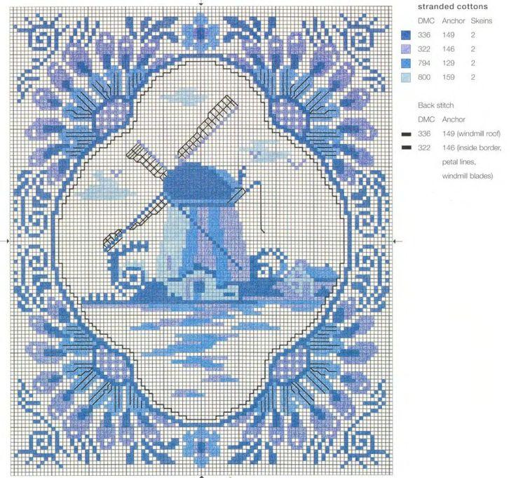 Gallery.ru / Фото #41 - Blue & White Cross Stitch-Helena Turvey - Orlanda