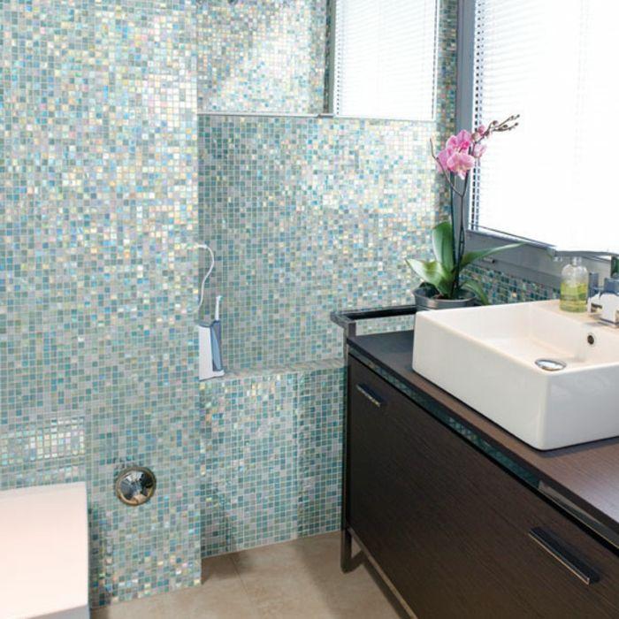 Badezimmer Mit Mosaik Gestalten 48 Ideen Badezimmer Mosaik Badezimmer Fliesen Badezimmer