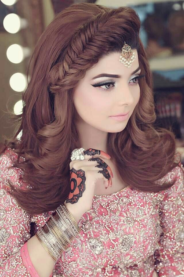 Nishoo Brides Pinterest Hair Styles Hair And Bridal Makeup