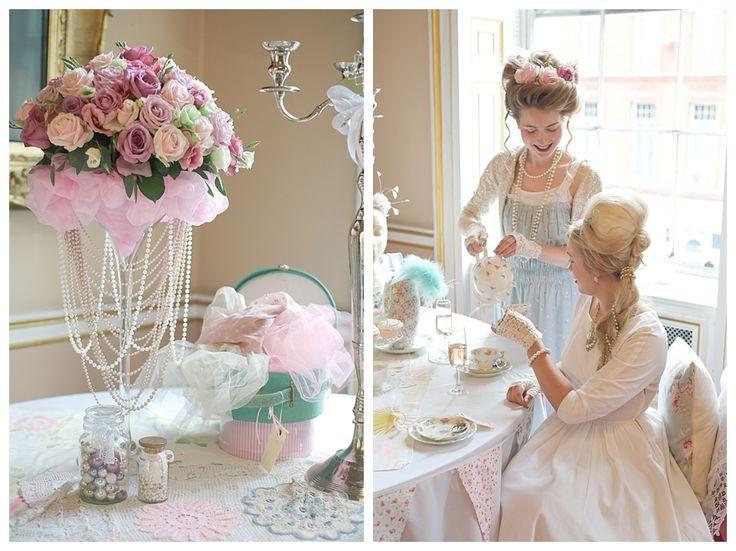 Wedding Blog UK ~ Wedding Ideas ~ Before The Big Day: Marie Antoinette Wedding & Hen Party Inspiration Shoot