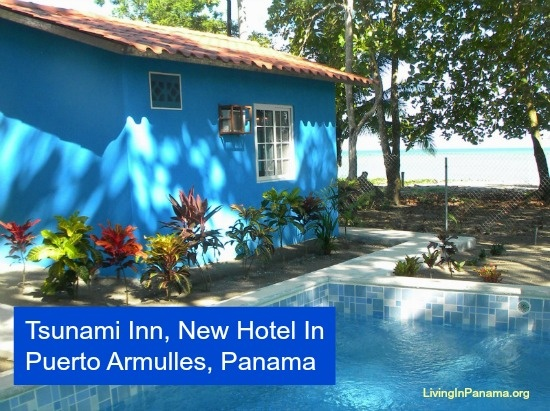 Have a beer, a swim in the pool or in the ocean at wonderful new hotel in Puerto Armuelles, Panama.  Find out how to contact them here http://www.livinginpanama.com/panama/puerto-armuelles/puerto-armuelles-panama-new-hotel/