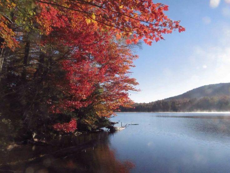 Fall colours in the Adirondacks