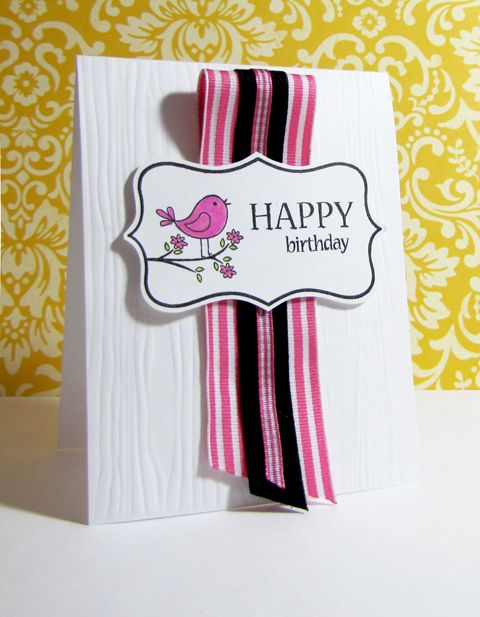 Ribbon by Width Cards
