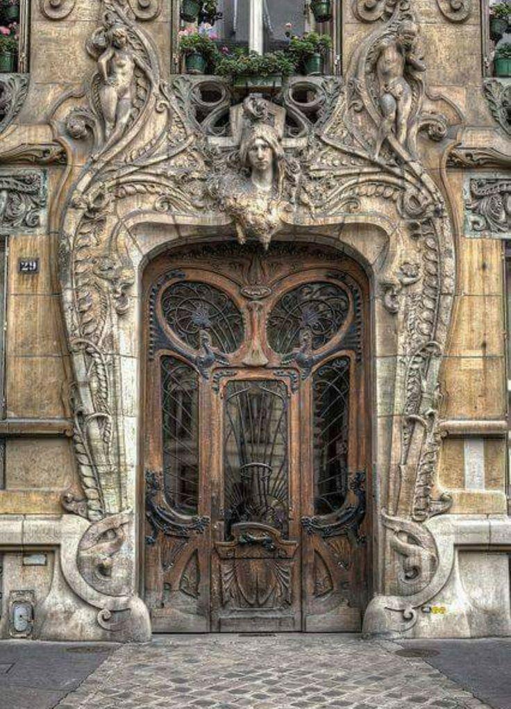 211 Best Door Art Images On Pinterest Entryway Windows