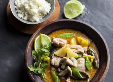 Thai Red Chicken Curry & various other recipes