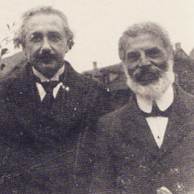 Who did Albert Einstein hang out with?
