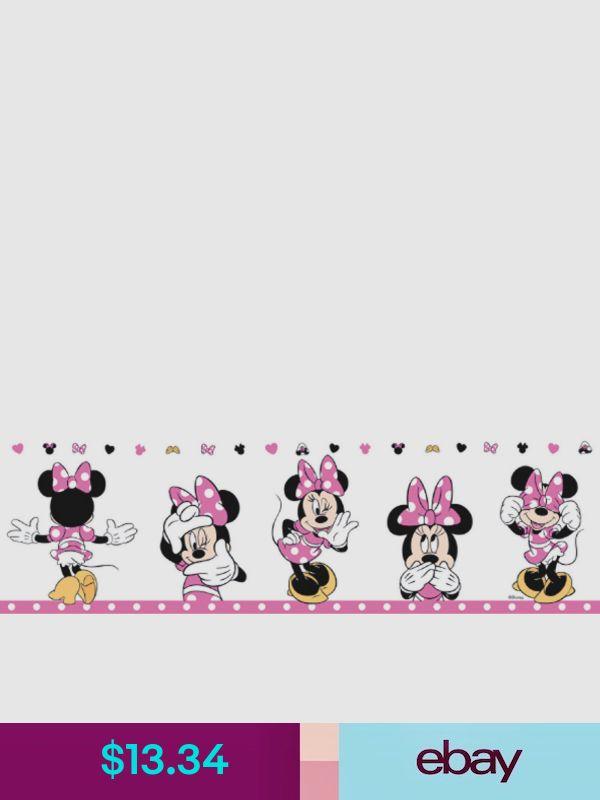 Disney Wallpaper Borders ebay Home, Furniture & DIY