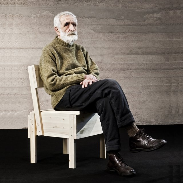 Sedia 1 Chair by Enzo Mari