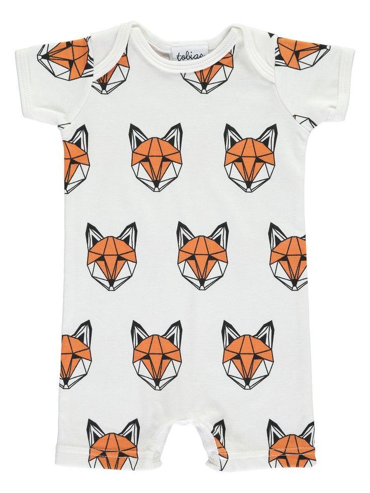 JUST CALL ME FOX SHORT ROMPER