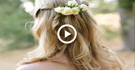 Beste Hochzeitsfrisuren für langes Haar mit Schleier – Hairstyles & Nails // DIY ♥