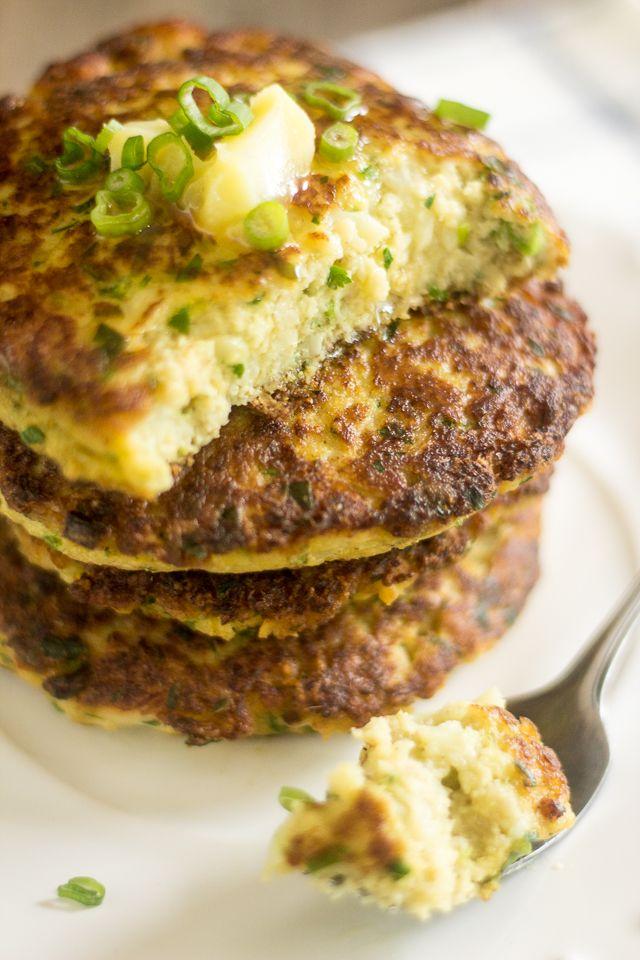 ladies outerwear Creamy Cauliflower Fritters | Recipe | Cauliflower Fritters, Fritters and Cauliflowers