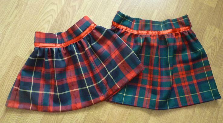jupes écossaises