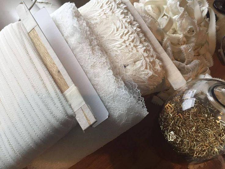 Ivory treasures await . . . Atelier moments by @tisja.damen #tisjadamen #tisjadamenlingerie